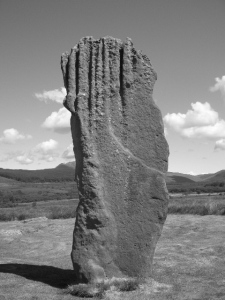 The standing stones, Machrie Moor.